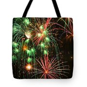 Fireworks 4th Of July Tote Bag by Garry Gay