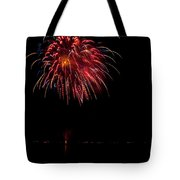 Fireworks II Tote Bag by Christopher Holmes
