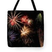 Fireworks Tote Bag by Jeff Kolker