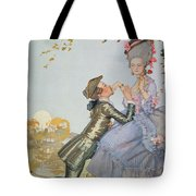 First Love Tote Bag by Konstantin Andreevic Somov