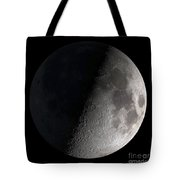 First Quarter Moon Tote Bag by Stocktrek Images