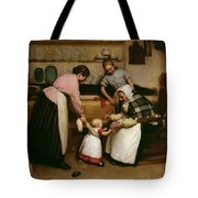 First Steps Tote Bag by George Hall Neale
