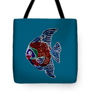 Fish Tales Tote Bag by Shane Bechler