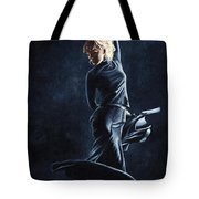 Flamenco Dexterity Tote Bag by Richard Young