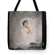 Flamenco Tote Bag by Lizzy Forrester