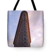 Flat Iron Building Tote Bag by Henri Irizarri