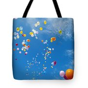 Float Away Tote Bag by Bob Abraham - Printscapes