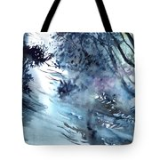 Flooding Tote Bag by Anil Nene