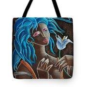 Flor Y Viento Tote Bag by Oscar Ortiz