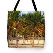 Florida Style Volleyball Tote Bag by David Lee Thompson