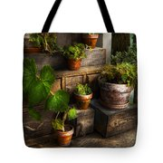 Flower - Plant - A summers soak  Tote Bag by Mike Savad