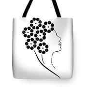 Flower girl Tote Bag by Frank Tschakert