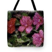 Flower Sketch Tote Bag by David Lane