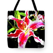 Flowers And Bees Tote Bag by Jerome Stumphauzer
