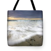 Flowing Stones Tote Bag by Mike  Dawson