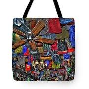 Foley's Pub in Manhattan Tote Bag by Randy Aveille