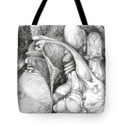 Fomorii Interior Tote Bag by Otto Rapp