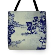 Football In The Park Tote Bag by Bill Cannon