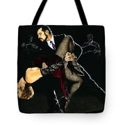 For The Love Of Tango Tote Bag by Richard Young