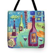 For The Love Of Wine Tote Bag by Arline Wagner