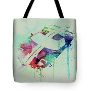 Ford Gt Top Watercolor  Tote Bag by Naxart Studio