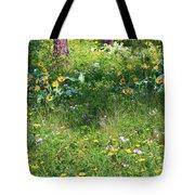 Forest Flowers Landscape Tote Bag by Carol Groenen