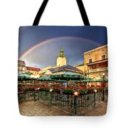 Forget Me Not Tote Bag by Evelina Kremsdorf