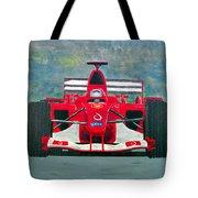 Formula 1 Tote Bag by Ken Pursley
