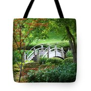 Fort Worth Botanic Garden Tote Bag by Joan Carroll