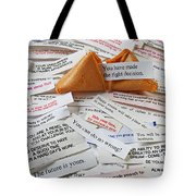 Fortune Cookie Sayings  Tote Bag by Garry Gay