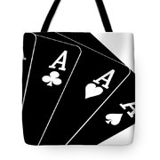 Four Aces II Tote Bag by Tom Mc Nemar