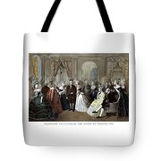 Franklin's Reception At The Court Of France Tote Bag by War Is Hell Store
