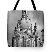 Frauenkirche Dresden - Church of Our Lady Tote Bag by Christine Till