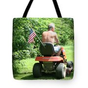 Freedom Isn't Free Tote Bag by Barbara S Nickerson