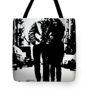 Freewheelin Tote Bag by Luis Ludzska