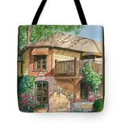 French Laundry Restaurant Tote Bag by Gail Chandler