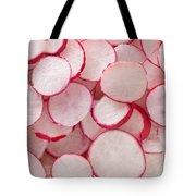 Fresh Radishes Tote Bag by Steve Gadomski