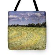 Freshly Mown Hay  Tote Bag by John Trax