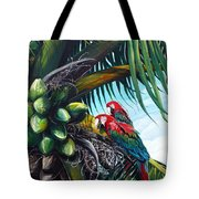 Friends Of A Feather Tote Bag by Karin  Dawn Kelshall- Best