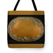 From The Foothills Bronze Tray Tote Bag by Dawn Senior-Trask