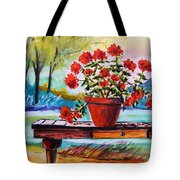 From The Potting Shed Tote Bag by John Williams