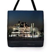 Frozen Boldt Castle Tote Bag by Lori Deiter