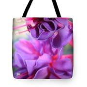 Fuchsia Drama Tote Bag by Carol Groenen