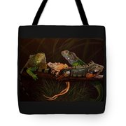 Full House Tote Bag by Barbara Keith