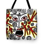 Fury Tote Bag by Sarah Loft