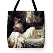 FUSELI: NIGHTMARE, 1781 Tote Bag by Granger