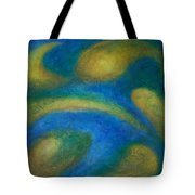 Galaxia Tote Bag by Anita Burgermeister