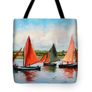 Galway Hookers Tote Bag by Conor McGuire