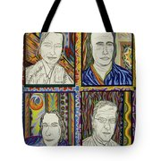 Gang Of Four Tote Bag by Robert SORENSEN
