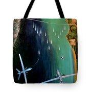 Gangplank Tote Bag by Todd Krasovetz